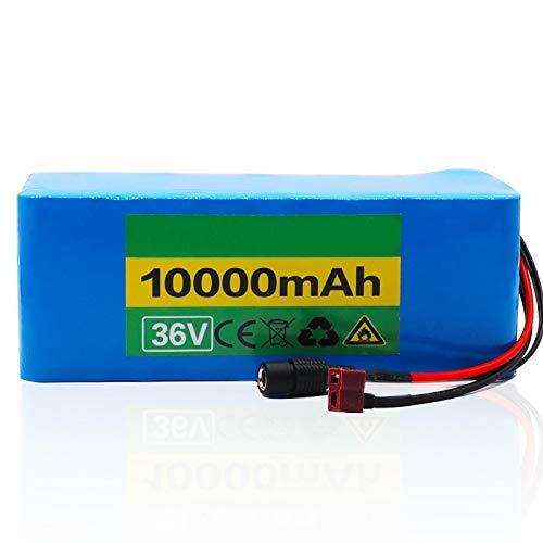 CNMMGL Batería De Litio De 36v 10000ah, Recargable Usada para La Batería Modificada del VehíCulo EléCtrico De Las Bicis