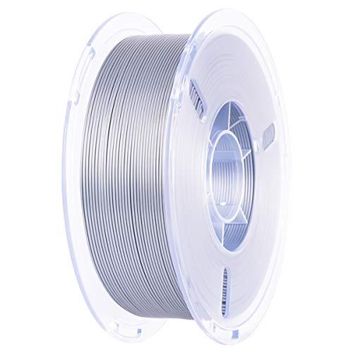 PLA PRO Filament-3D-Druck 1KG, PLA Plus 3D Drucker Filament, PLA+ Filament Druckmaterialien 1,75 +/- 0.02 mm Vakuumverpackung für 3D Drucker oder 3D Stift, 7 Farben (Grau)