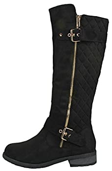 Forever Mango-21 Women's Winkle Back Shaft Side Zip Boots