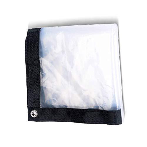 BWBG Lonas Impermeables Exterior Transparente, 6mx8m Lona De Invernadero con Ojales Resistente Al Agua Resistente Al Polvo Carpa Exterior De PláStico para Invernadero JardíN Agricultura Acampa