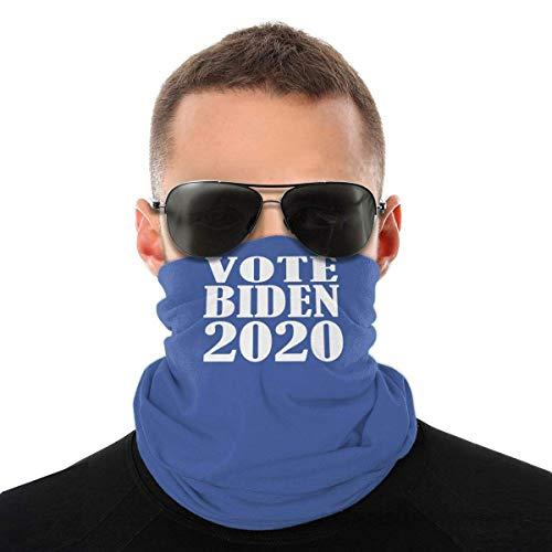 Nother Vote Biden 2020 Bufanda para el cuello, protección contra el polvo, pasamontañas bandana blanca bufanda para el pelo para las mujeres