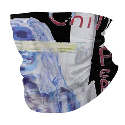 Antokos Red Hot Chili P-Eppers By The Way Unisex reutilizable ajustable cara cubierta bufanda protección UV cuello pasamontañas 3d impreso variedad cabeza bufanda