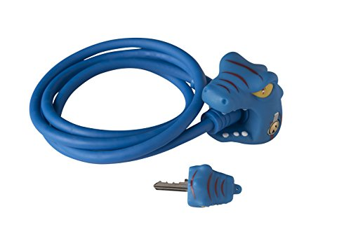 Crazy Safety Dragon Fahrradschloss Jungen, blau