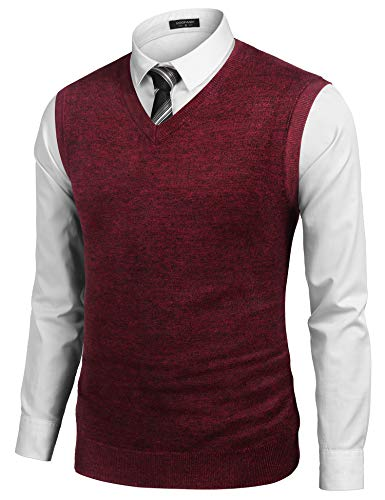 Big and Tall Sweater Vest for Men's