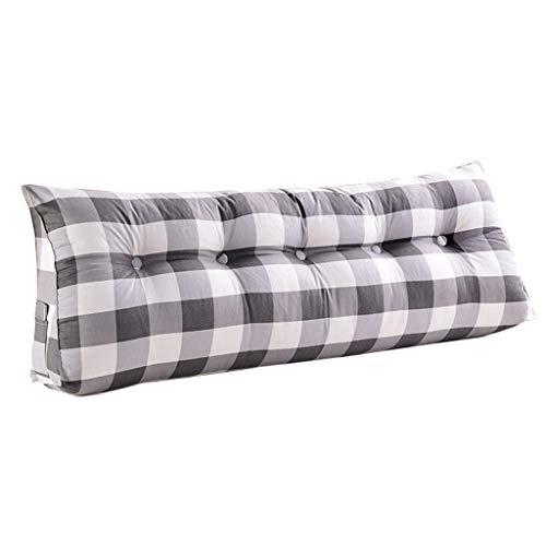 QARYYQ Tatami Almohadas, paquete suave de doble cabeza, cojín grande para cama (tamaño : 150 x 50 x 20 cm)