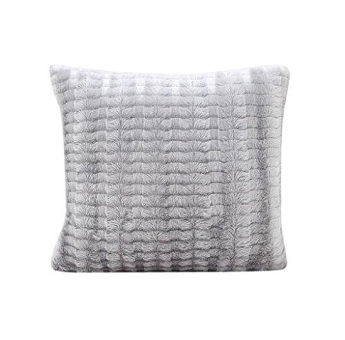 Kissenbezug Sofa Taille Wurf Kissenbezug Wohnkultur 43 x 43 LuckyGirls (Grau)