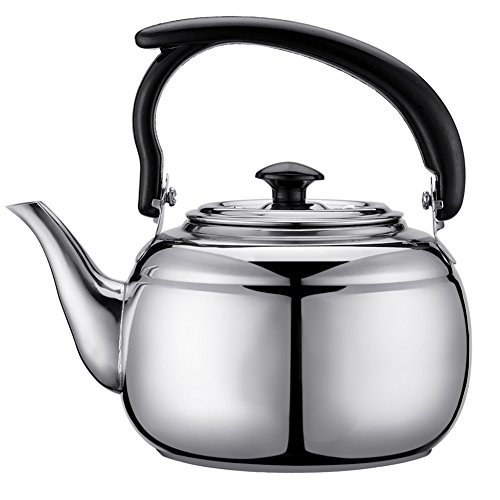 LYCOS3 - Tetera Acero Inoxidable Estufa 1 litro té