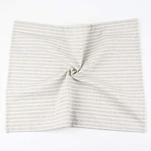 30 x 40 cm isolatiemat linnen katoenen handdoek tafellaken eten dus tafelkleden tafelkleed,CJ008-3040Gray