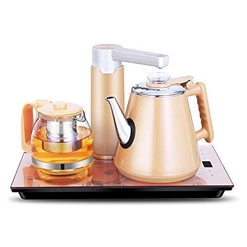 n.g. Wohnzimmerzubehör Intelligenter Induktionsherd Selbstabsorption Wasserkocher Haushalt Pumpen Teeset (Gold Gummi)