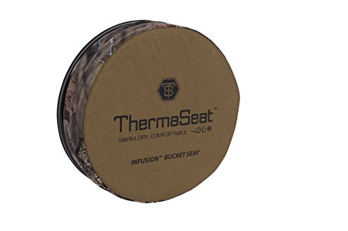 Northeast Products Therm-A-SEAT Infusion Bucket Lid Spin Seat, Coyote/Mossy Oak Infinity, 3'