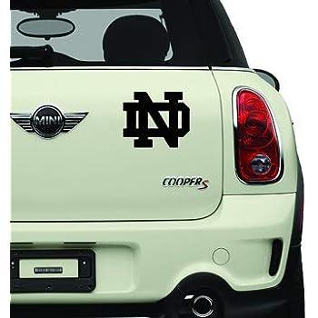 Notre Dame Black Sports Teams Automotive Decal//Bumper Sticker