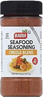 Badia 海鲜调味料克里奥尔混合,4.5盎司(127.35克)(6件装)