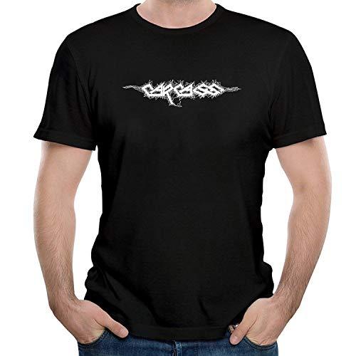 WEIQIQQ Herren Carcass White Logo Gift Short Sleeved T-Shirt