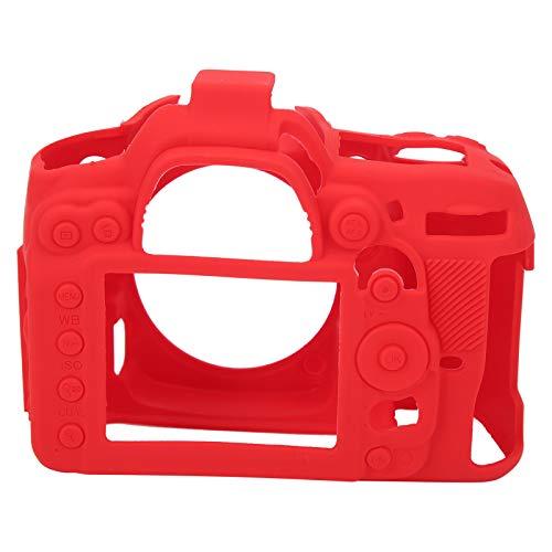 Estuche Protector para cámara, Carcasa Protectora para cámara, Estuche de Silicona para cámara, Conveniente para cámara para Accesorios de cámara(Red)