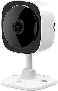 YPSMLYY Cámara Inteligente Inalámbrica 180 Grados 2 Millones De Alta Definición De Visión Nocturna por Infrarrojos Máquina De Tarjeta Panorámica Cámara De Vigilancia WiFi