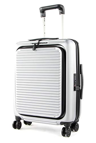 Mandarina Duck - Tank Case Trolley Cabin W/Front Pocket / Grigio, Luggage- Suitcase Mujer, Grigio, One Size - P10FSV22002