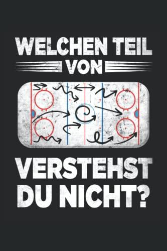 Eishockey Trainer Notizbuch (liniert) Eishockeyspieler Lustiges Coach