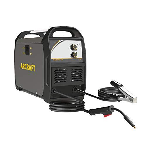ARCRAFT Inverter Flux Core 140 Welder, 110V/120V, 125A DC Based Inverter No Gas Automatic Feed MIG Welder