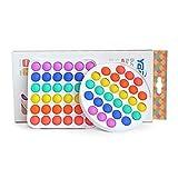 YBP Sensory-Push Pop Bubble Fidget Toys - Stress Reliever Squeeze Silicone 2 Pack