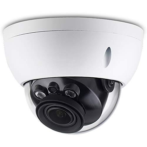 4MP PoE IP Network Camera IPC-HDBW4433R-ZS, 2.7mm~13.5mm Varifocal Motorized Lens,5X Optical Zoom, 2K HD(2592×1520), Outdoor Surveillance Dome Camera,IR Night Vision 98ft,SD Slot,IP67,IK10,WDR,ONVIF