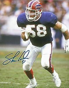 Autographed Shane Conlan 8x10 Buffalo Bills Photo