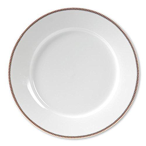 PIP STUDIO 51001034 Assiette Présentation, Porcelaine, Blanc, 32 x 32 x 2,2 cm