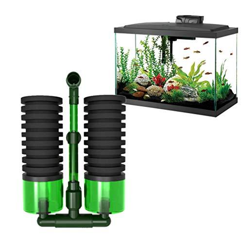 POPETPOP Aquarium Bio-Schwammfilter Aquarium Biochemischer Schwammfilter-Aquarium-Luftpumpe