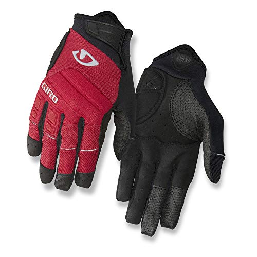 Giro Xen Men's Mountain Cycling Gloves - Dark Red/Black/Grey (2021), XX-Large
