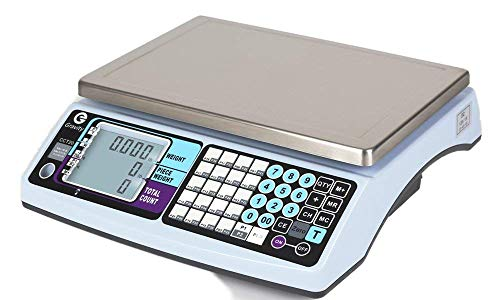 High Performance Precision Counting Scale for Parts & Coins, 60lb x 0.002lb, Industrial and Scientific Use