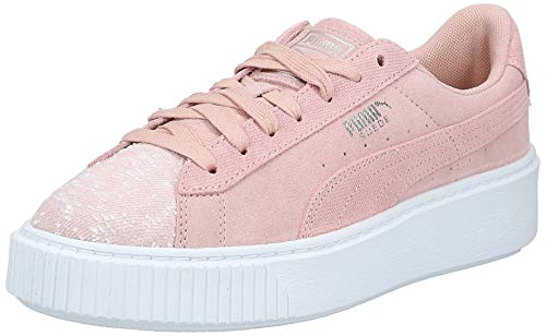 Puma Suede Platform Pebble Wn
