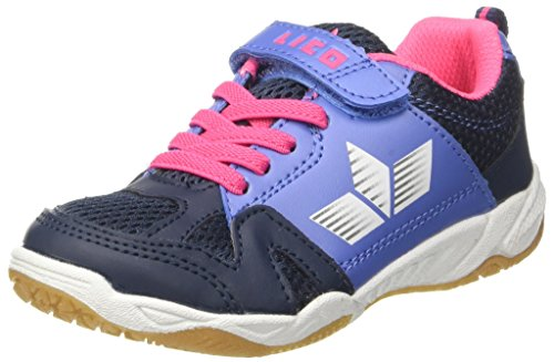 Lico Mädchen Sport VS Multisport Indoor Schuhe, Blau (Marine/Lila/Pink), 30 EU