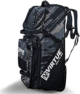 Virtue High Roller V3 Extra Large Travel Gear Bag with Rugged Wheels - 7000 Cubic Inch Storage Capacity