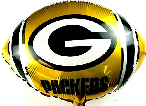 Green Bay Packers Boys Sports Room Decoration Georgia States Mylar Party Balloon, Pack of 1 Pc, 5.6