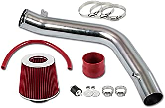 Velocity Concepts Red COLD AIR INTAKE KIT + FILTER 2004-2008 Acura TL Base/Type S Model with 3.2L 3.5L V6 Engine