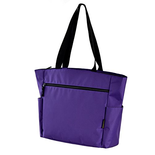 Olympia Women's Ladies X-Press Travel Shoulder Tote, Purple, One Size