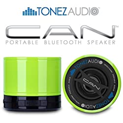 Tonez Audio Corp CAN Portable Bluetooth SpeakerSpeakerphone (Jaded Lime)