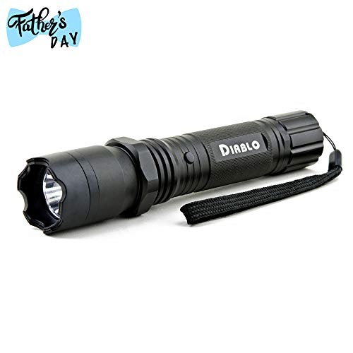 Guard Dog Security Diablo Stun Gun with Flashlight – Police Strength Stun Gun with Concealed Technology – Personal Defense Equipment – Rechargeable