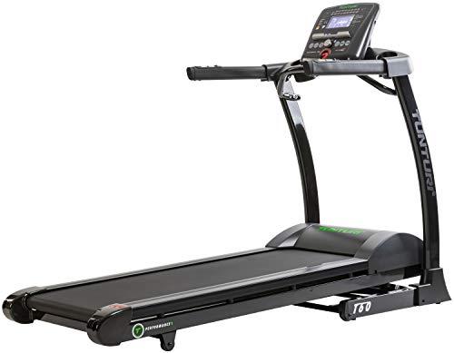 Tunturi T60 Treadmill Performance Unisex-Adult, Nero/Grigio, Taglia Unica