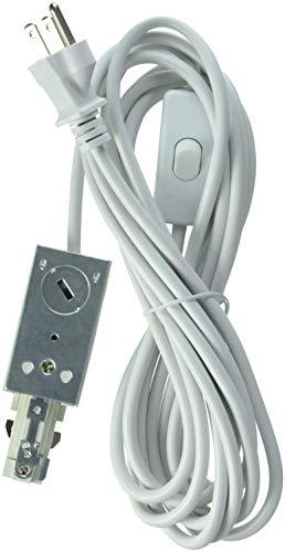 Lithonia Lighting 218LPH 15 feet White, 120 Volts LTLECS M6 Linear Track Lighting Live-End Power Feed