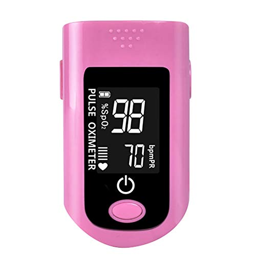 LGQ Oxygen Saturation Monitor,Fingertip Pulse Oximeter Spo2 Pulse Sensor Blood Oxygen Saturation Monitor with Lanyard Pulse Oximeter