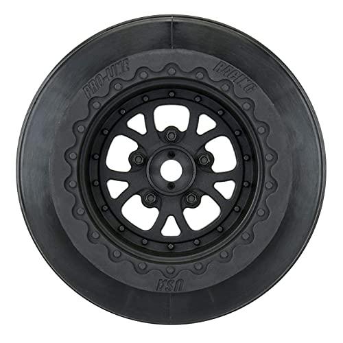 Pro-line Racing Pomona Drag Spec 2.2 3.0', Black: Slash 2WD Rear, 4x4 F/R, PRO277603