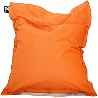 comprar comparacion Hagoelvago PUF XXL 180 x 140 cm Puff, sillón, Taburete, Cama, cojín, Almohada, Tumbona, para Interiores y Exteriores 100% ...