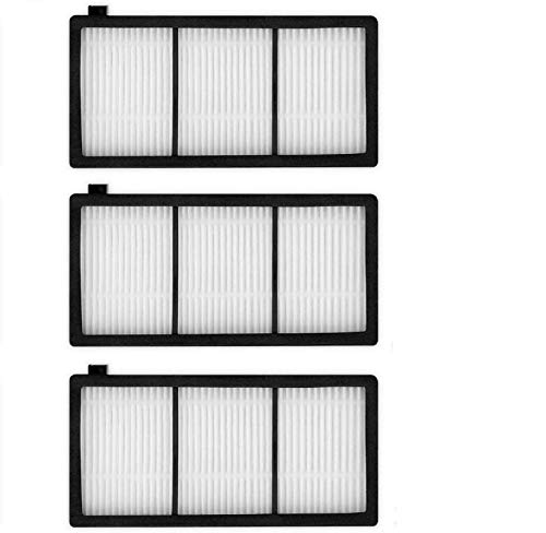 ANBOO 3 Replacement HEPA Filter Filters for iRobot Roomba 800 900 Series 860 870 871 880 960 980 Vacuum Cleaning Robots