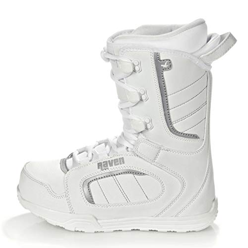 RAVEN Damen Snowboard Boots Pearl White (39,5(25,5cm))