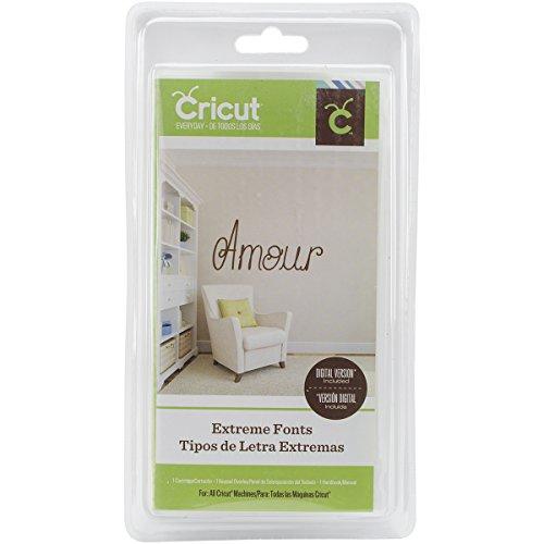 Cricut Font Cartridge-Extreme