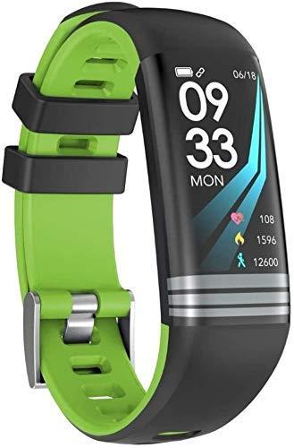 JIAJBG Pulsera inteligente de fitness G26, pantalla a color de 0,96 pulgadas, monitor de sueño, podómetro, pulsera inteligente para niños, mujeres y hombres, S