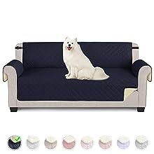 TAOCOCO Funda de sofá Impermeable Funda de cojín de protección para Mascotas Funda de sofá antisuciedad (Azul/ 3 Plazas 165 * 190cm)