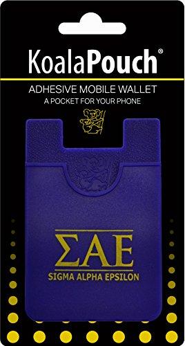 Sigma Alpha Epsilon–Koala Tasche–selbstklebend Handy Wallet