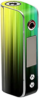 MightySkins Skin Compatible with Sigelei Spark 90W TC – Rainbow Streaks | Protective, Durable, and Unique Vinyl Decal wrap Cover | Easy to Apply, Remove, and Change Styles | Made in The USA