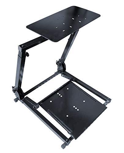 SIMONI RACING SRS/PS3 Simulatore di Guida Universale Type Sofa, può Essere utilizzato Semplicemente dal Divano di casa o con Qualsiasi Sedia Gaming, Colore Nero